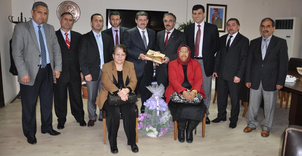 Gümüşhaneliler Vakfı Civelek'i ziyaret etti