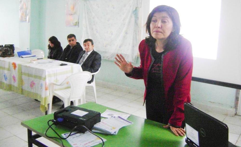 Balya'da kadına şiddet eğitimi!