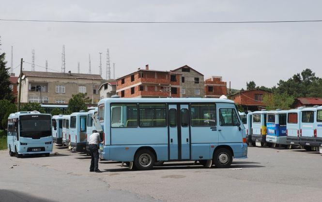 Harem minibüsleri taşınmaya başladı!