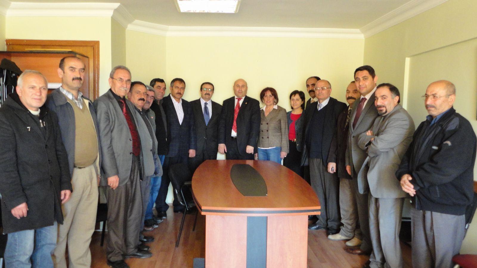 Tatar'a tebrik ziyaretleri devam ediyor!