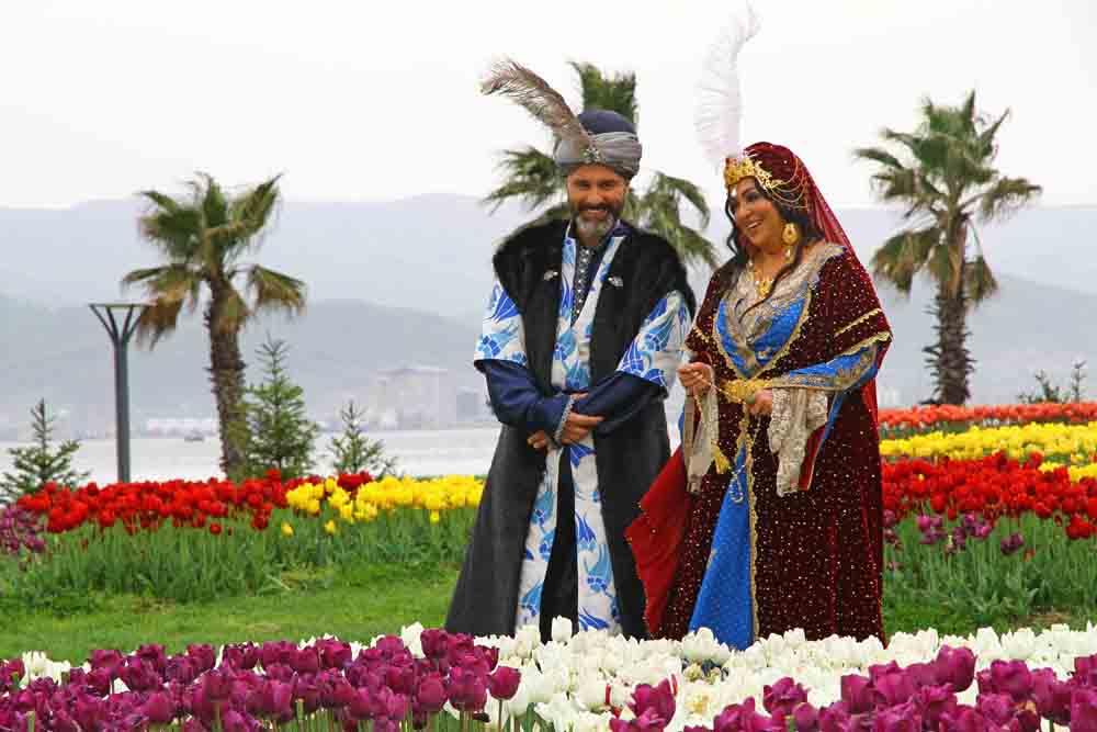 Sultan Sekapark'a hayran kaldı!