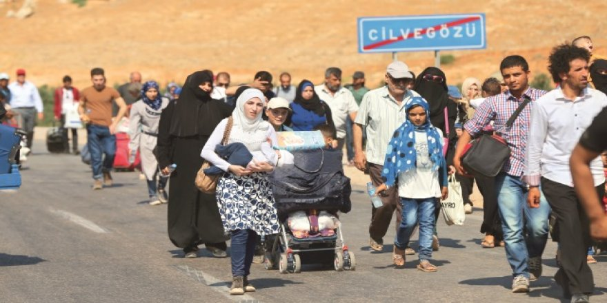 6 bin mülteci Suriye'ye gitti