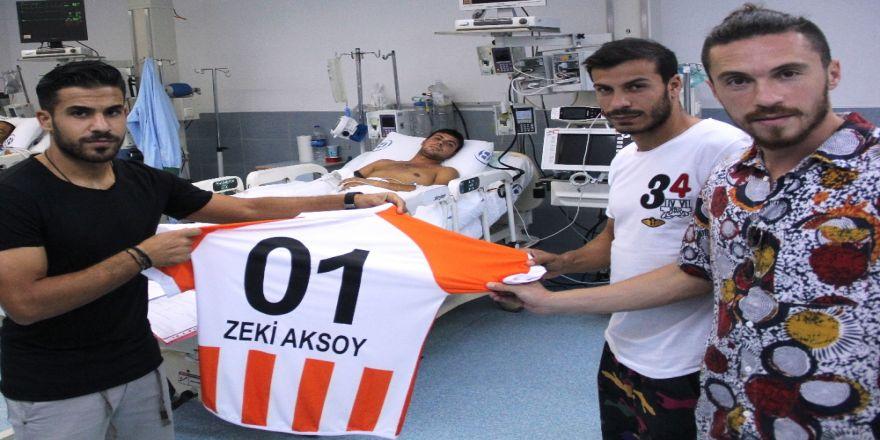 Adanasporlu Futbolculardan Anlamlı Ziyaret