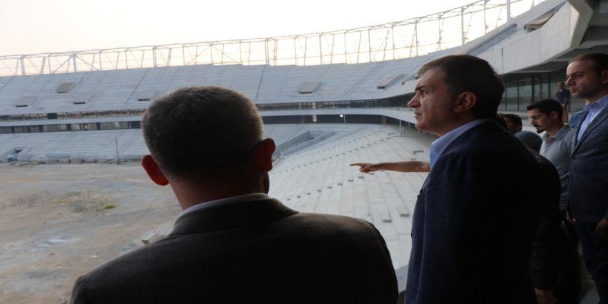 Adana Şehir Hastanesi Ve Koza Stadyumu'nu İnceledi