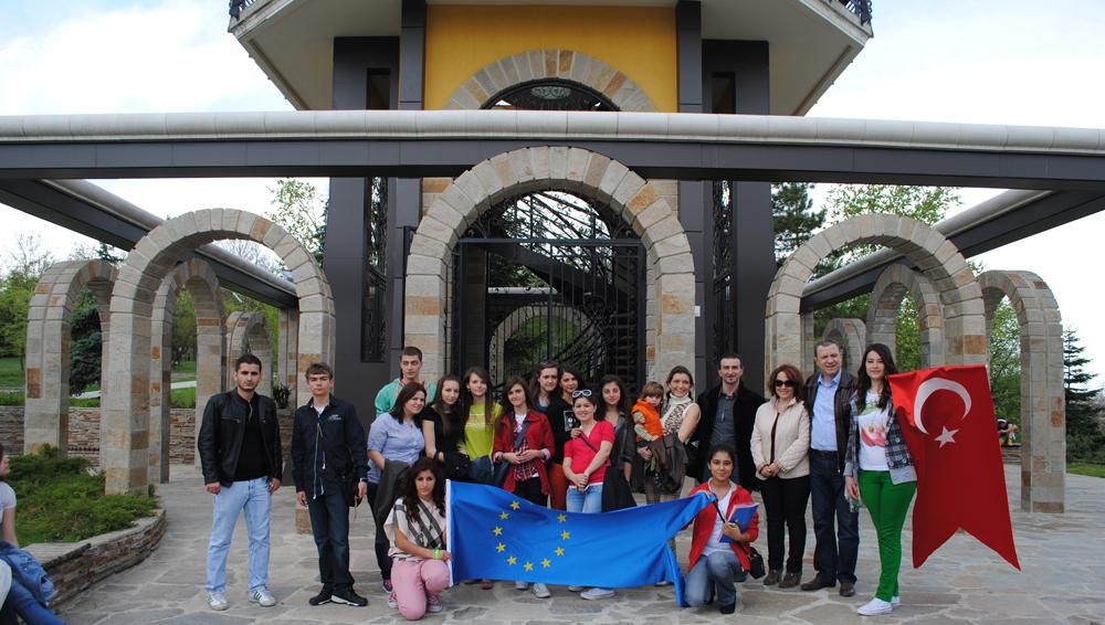Uzunköprülü öğrenciler Bulgaristan'ı ziyaret etti!