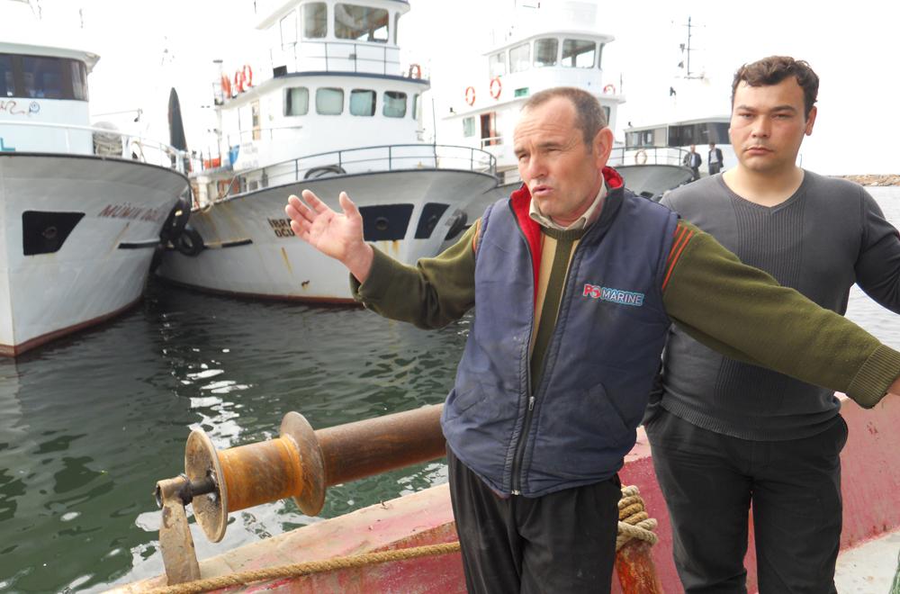 Yunan Güvenlik Sahil Botları Türk balıkçıları taciz ettik!