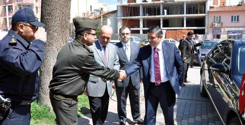 Vali Arslan Dursunbey'i ziyaret etti!