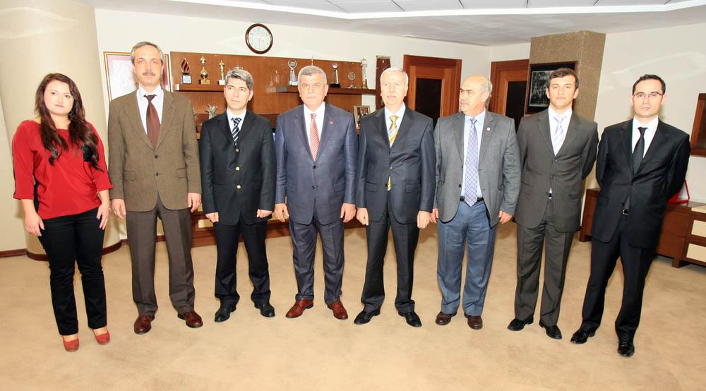 Balkan Türkleri Başkan'a konuk oldu!