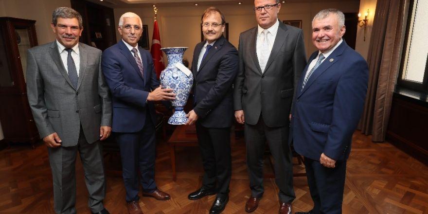 Marmarabirlik'ten Çavuşoğlu'na Ziyaret