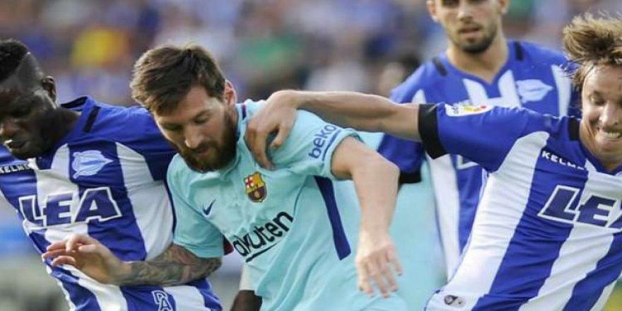 Barcelona'da Messi yetti