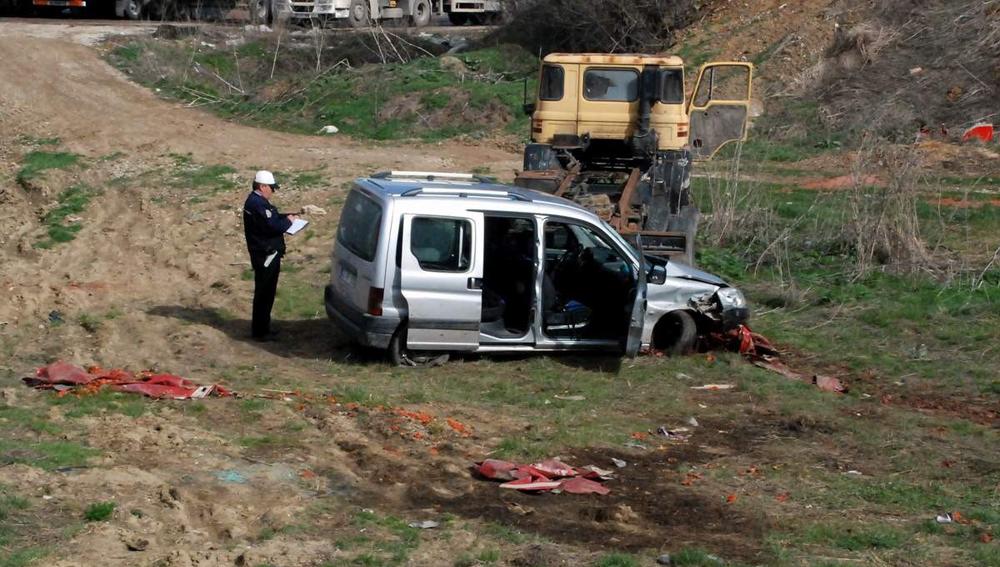Bozüyük'te trafik kazası: 2 yaralı!