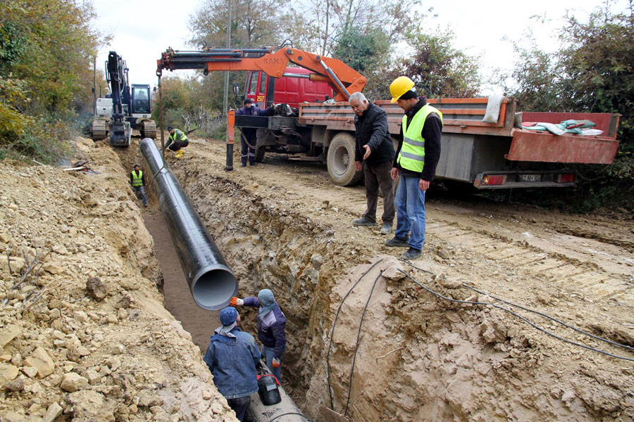 Namazgah Barajı'nın inşaatı sürüyor!