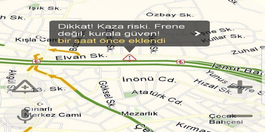İçşileri Bakanlığı Sürücüleri Yandex İle De Uyaracak