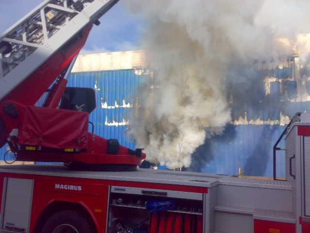 DHL Lojistik'te korkunç yangın!