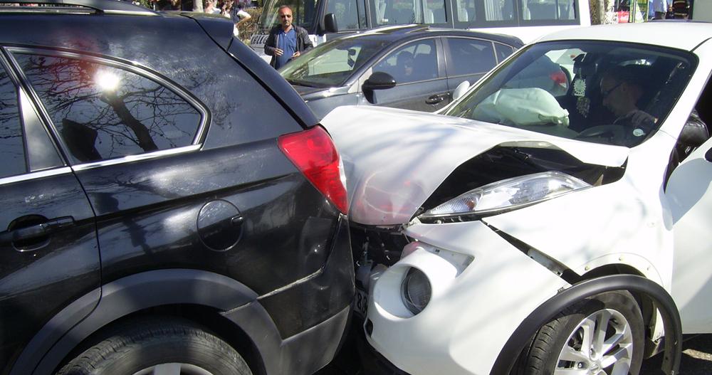 Lüks araçların karıştığı trafik kazası!