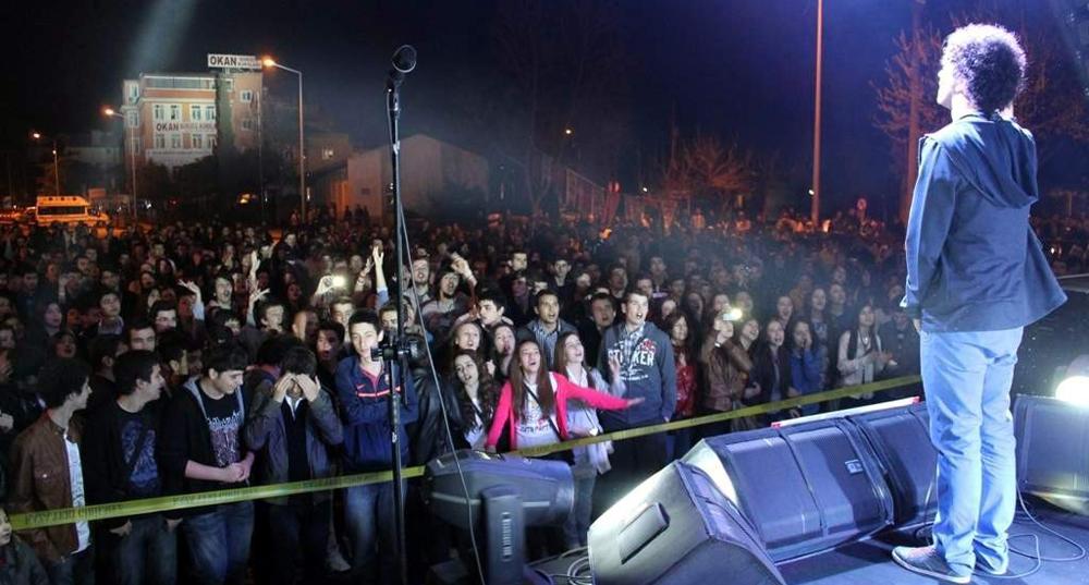 Balıkesir'de gençlik konseri!