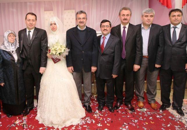 Viranşehir Kaymakam'ı Gebze'de evlendi!
