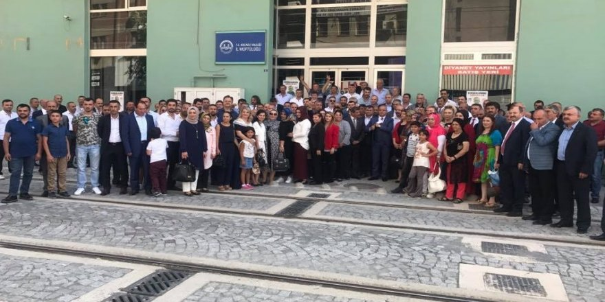 MHP'nin bayramlaşmasına yoğun katılım