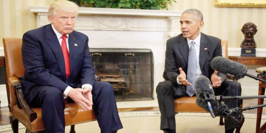 Obama'dan Trump'a 'son mektup'
