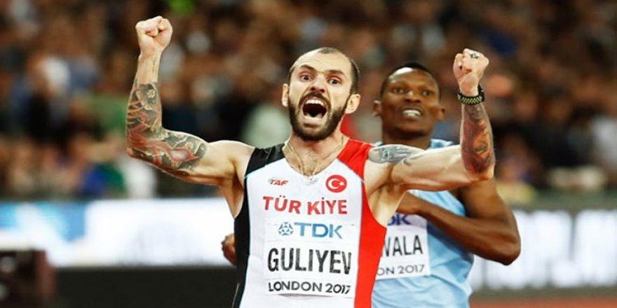 Ramil Guliyev hedef büyüttü