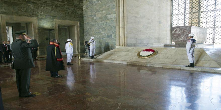 Yargıtay Üyeleri Anıtkabir'i Ziyaret Etti