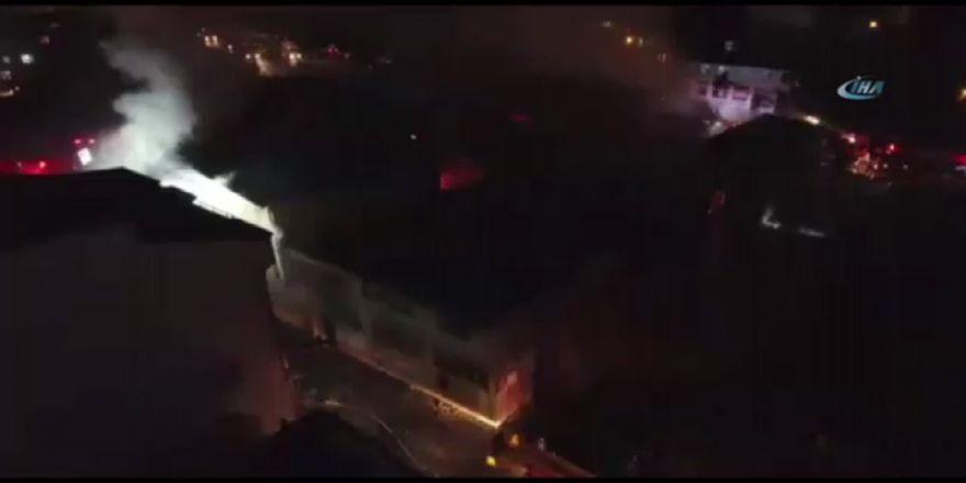 Boya Fabrikası Yangını: 2 İtfaiye Eri Yaralandı