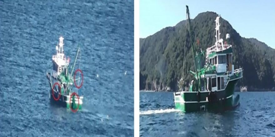 Yasa Dışı Avcılık Yapan Tekneye 24 Bin Lira Ceza