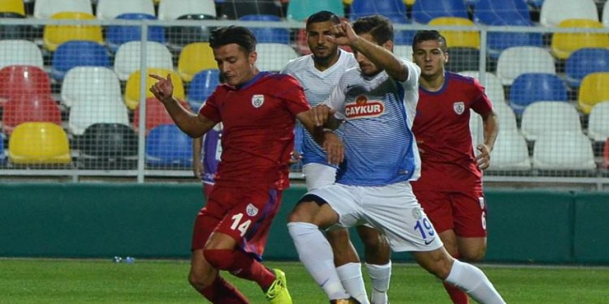7 gollü düallodan Rizespor çıktı