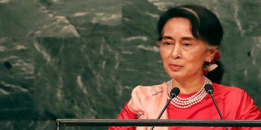 Myanmar lideri BM Genel Kurulu'nda konuşacak