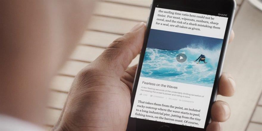 Facebook'tan çevrimdışı video özelliği
