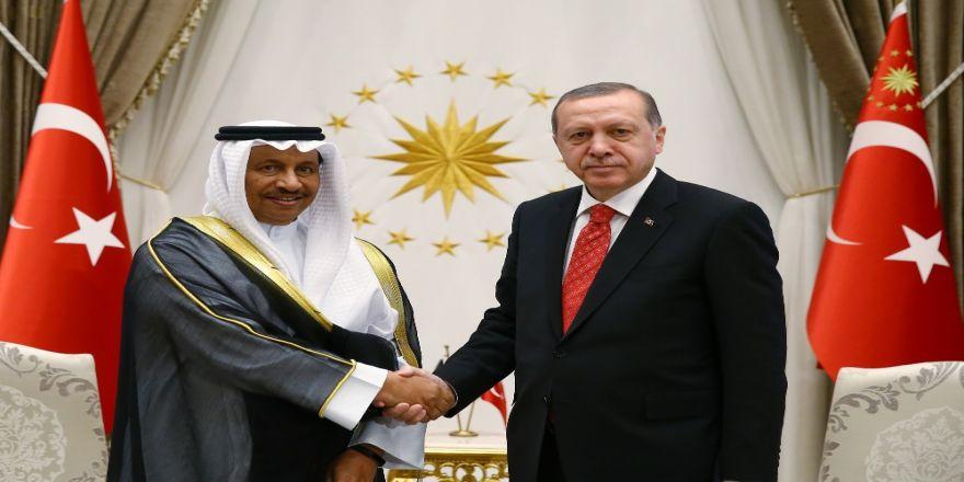 Erdoğan, Kuveyt Başbakanı'nı Kabul Etti