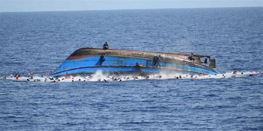 Tekne alabora oldu