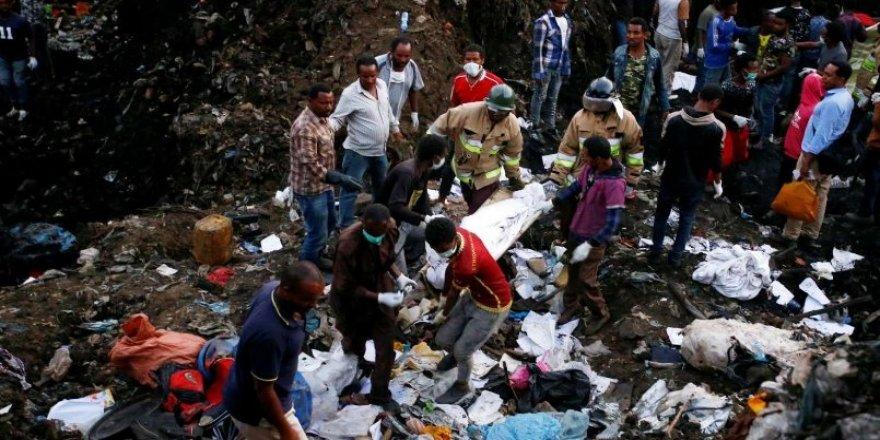 Etiyopya'da çöp yığınları bir can daha aldı