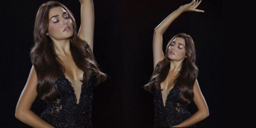 Hande Erçel'in dansı sosyal medyayı salladı