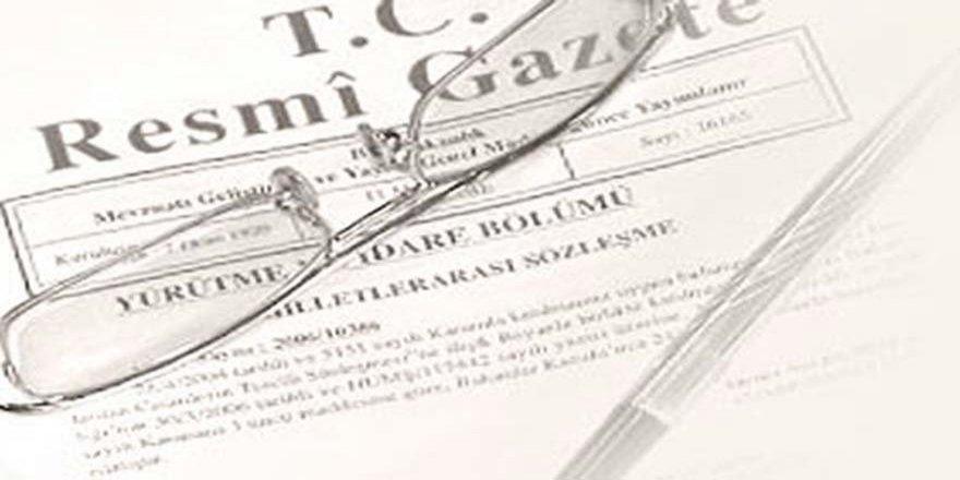 Atama kararları Resmi Gazete'de yayılandı