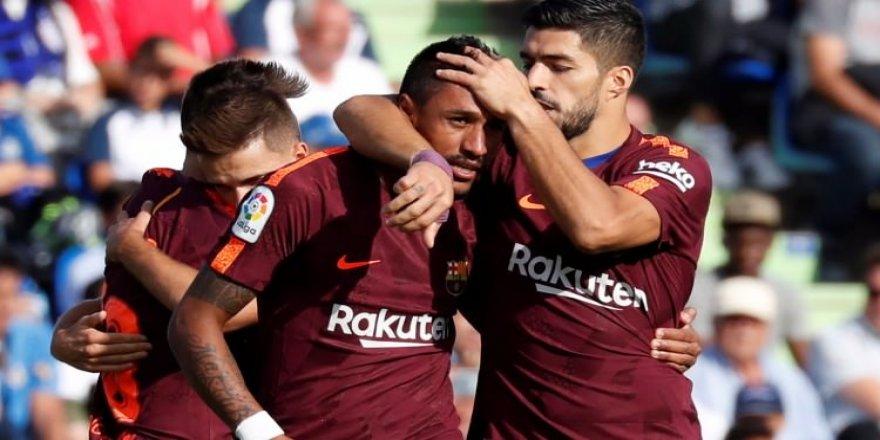 Paulinho, Barcelona'ya 3 puanı getirdi!