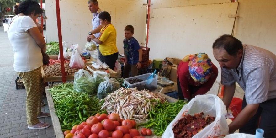 Burhaniye'de Organik Ürünler İlgi Görüyor