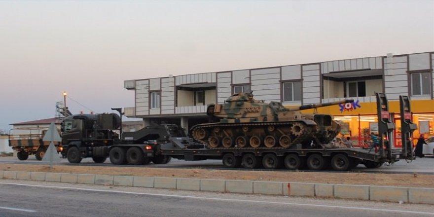 Suriye sınırına tank sevkiyatı!