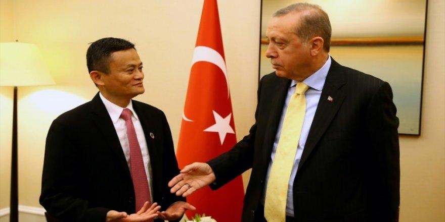 Erdoğan, Alibaba'nın kurucusunu kabul etti