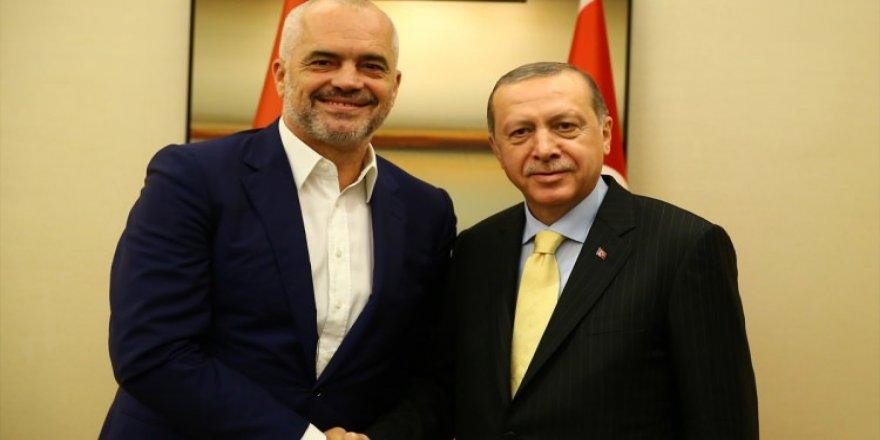 Erdoğan, Edi Rama ile görüştü
