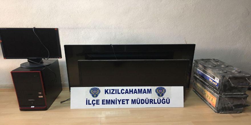 Ankara'da Hırsızlık Çetesine Operasyon