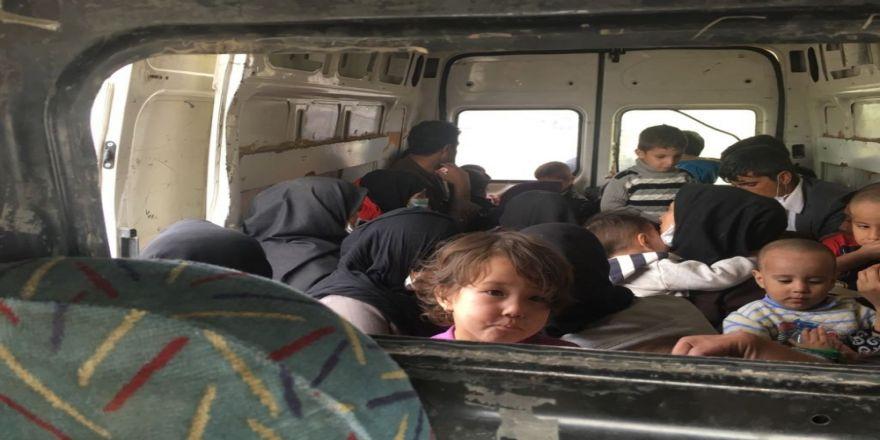 Ağrı'da 62 Afgan Göçmen Yakalandı