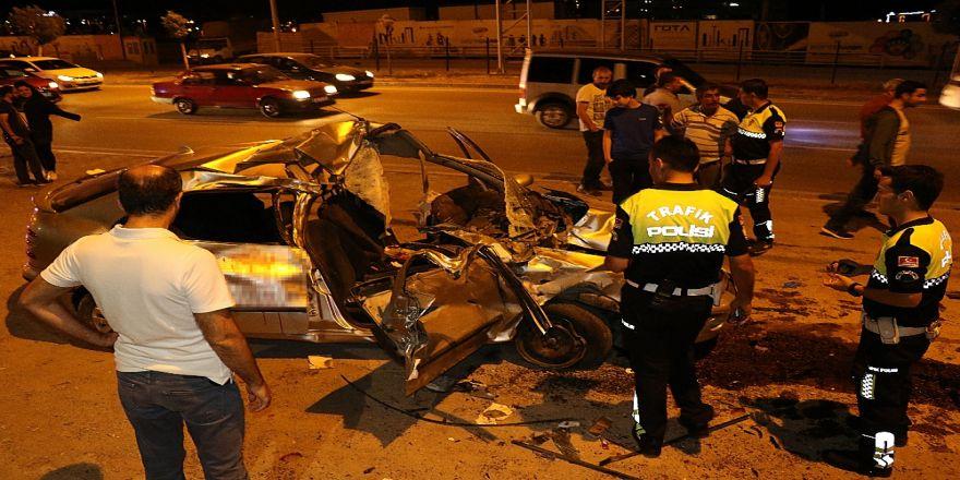 Otomobil Hurdaya Döndü: 5 Yaralı