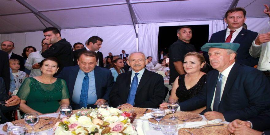 Kılıçdaroğlu, Muharrem İnce'nin Oğlunun Düğününe Katıldı