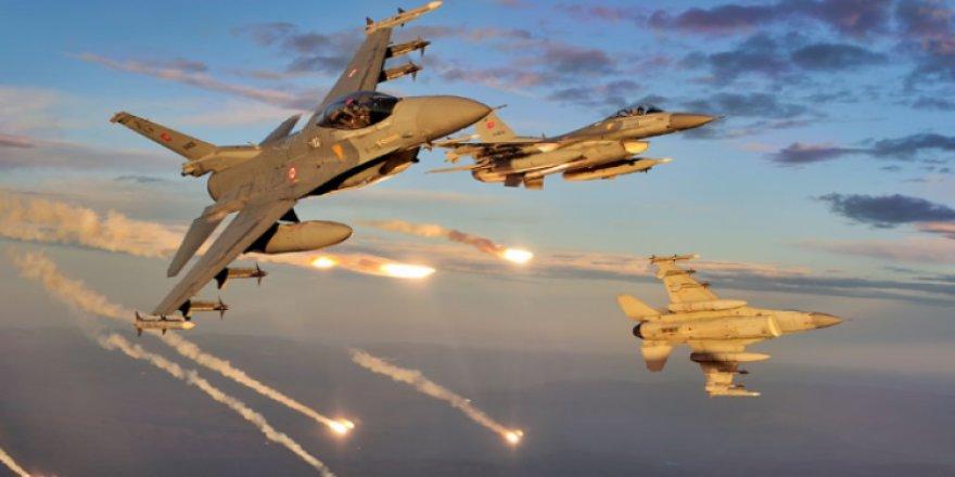 TSK, Kuzey Irak'ı bombaladı!