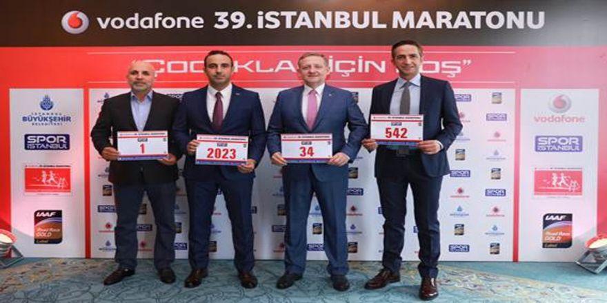 Vodafone 39. İstanbul Maratonu Çocuklar İçin Koşulacak