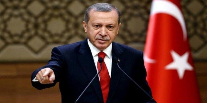 Erdoğan'ın sözlerini Türkmenler duvarlara yazdı