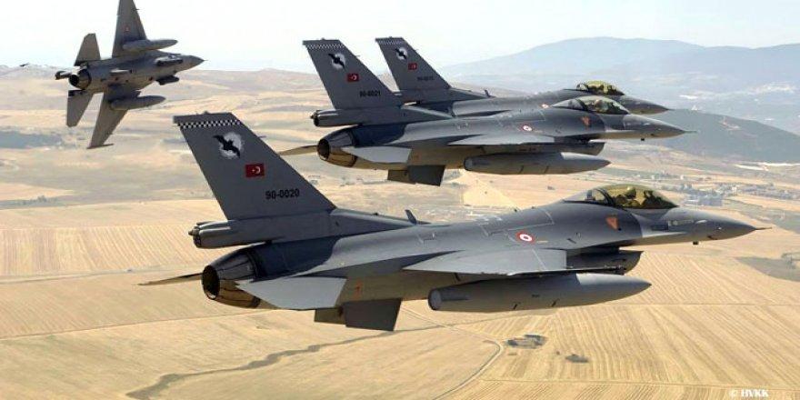 Kuzey Irak'a düzenlenen hava operasyonunda 13 terörist öldürüldü