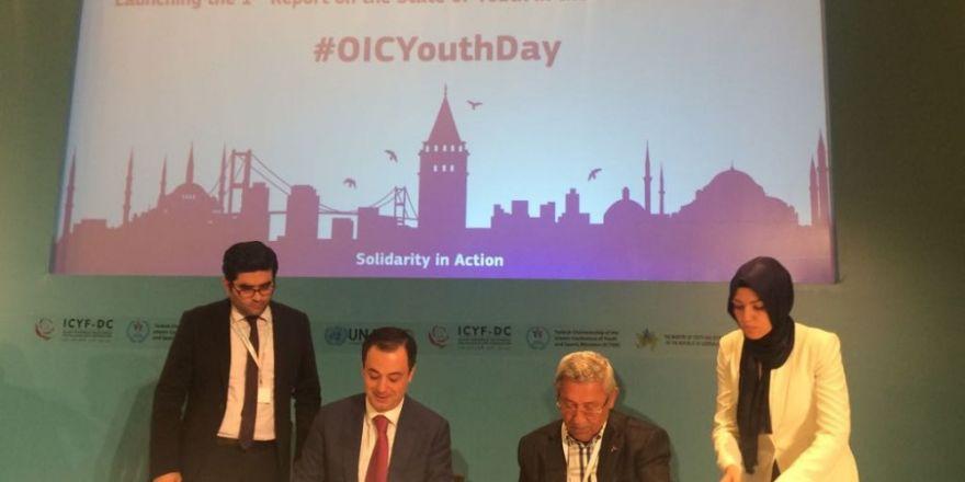 İbn Haldun Üniversitesi İle İslam Konferansı Gençlik Forumu Arasında İş Birliği Anlaşması