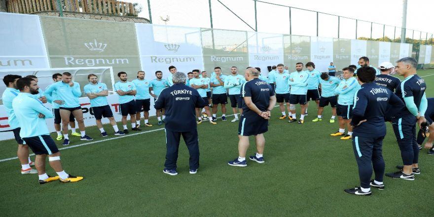 A Millilerin Antalya Kampı Başladı